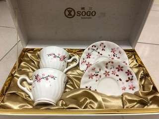 廣三SOGO 優雅櫻花咖啡杯