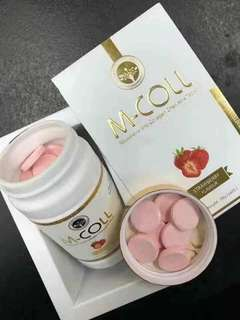 M coll ready stock