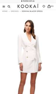 Bnwt Kookai Edwina blazer dress (38)