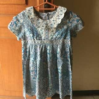 Batik Keris Girls Dress
