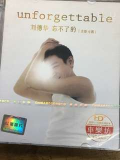 Andy Lau 3 cds sealed