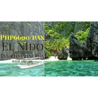 3D2N PROMO EL NIDO + UNDERGROUND RIVER PACKAGE =)