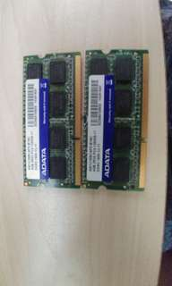 RAM Adate DDR3 1600 4GB x2