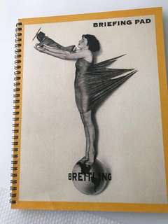 BREITLING Briefing Pad Spiral Notebook