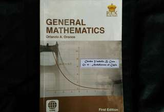SHS Grade 11 Textbook - General Mathematics