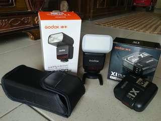 Godox TT350 & Godox X1T