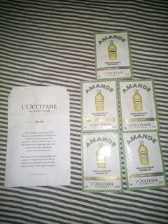 L'Occitane Amande 6 x 5 ml shower oil