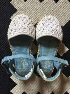 Espadrile white shoes