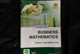 SHS Grade 11 Textbook - Business Math