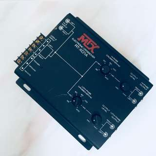 MTX AUDIO RTX01A CROSSOVERS