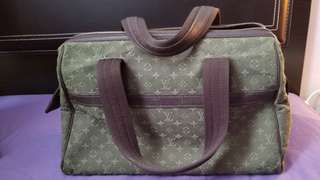 80% New LV louis Vuitton Josephine PM Army Green