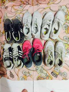 Bundle shoes(puma,Nike,Adidas)