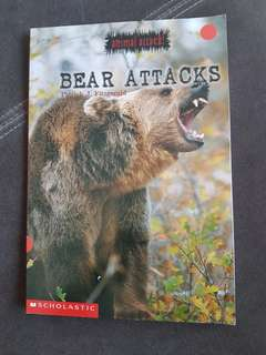 The bear attacks - book used by Lorna whiston  for 4 to 6 yrs