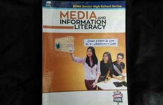 SHS Grade 11 Textbook - Media and Information Literacy