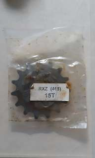 Rxz front spocket (415) 15T