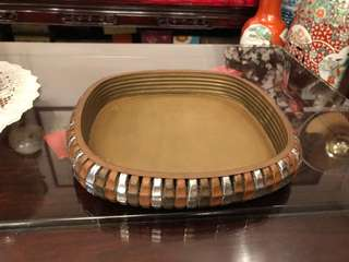 Hand made copper tray