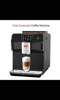 FULLY AUTOMATIC COFFEE MACHINE+CUPS+PLATES