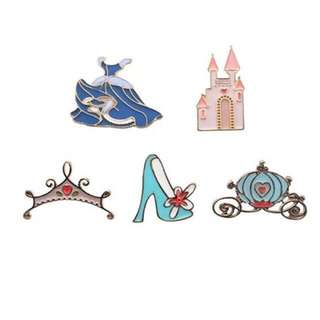 Enamel brooch metal pin