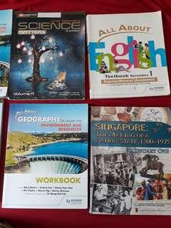 🚚 Lower sec textbooks