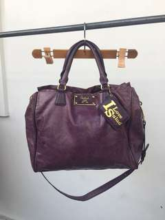Salad Purple 2 way bag