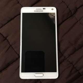 Samsung Galaxy Note 4 w/ FREE Original Spigen Case