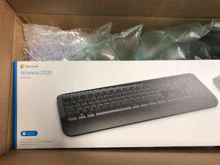 💹 Microsoft Wireless 2000 Keyboard & Mouse Bluetooth