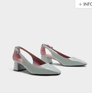 Charles & Keith Cut Out Court Heels