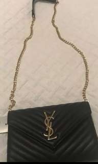 YSL clutch with chain *price drop*