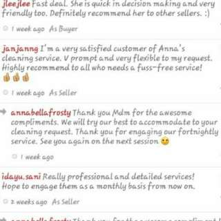 Awesome Clients Feedbacks