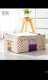 Foldable storage box -2pieces