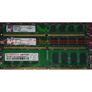 Desktop PC DDR2 ram, 2GB kingston