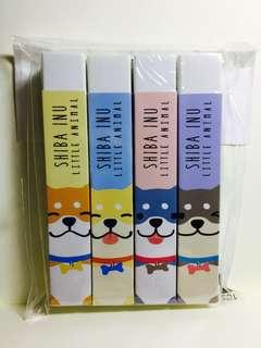 Shiba Inu Dog Erasers
