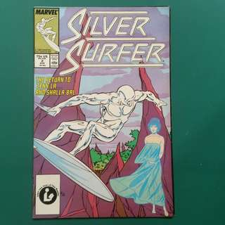 Silver Surfer No.2 comic