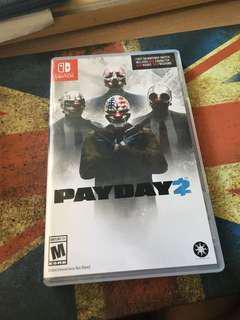 Switch PayDay2 (可少量議價)