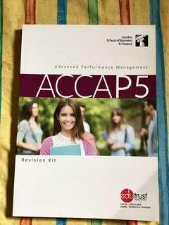 ACCAP5 - Advanced Performance Management Revision Kit