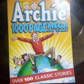 archie comics 1000 page mega comic digest