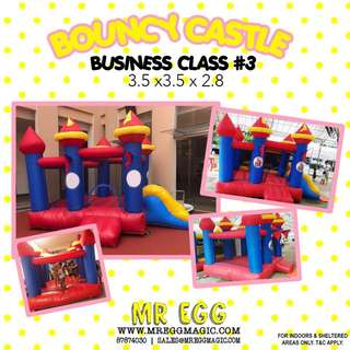 Promotion Business Class Bouncy Castle BC#3