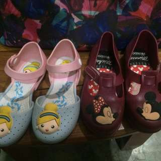 Jelly Shoes (Cinderella And Mickey)
