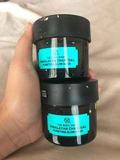 [BOTTLE ONLY] botol the body shop charcoal mask