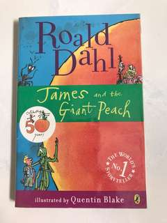 James and the Giant Peach by Ronald Dahl