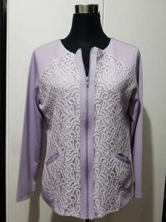 Soen XL Lavender Jacket preloved