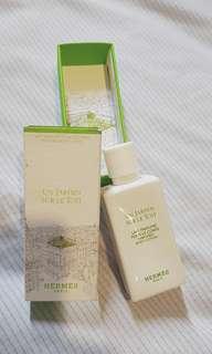 NEW Hermes body lotion