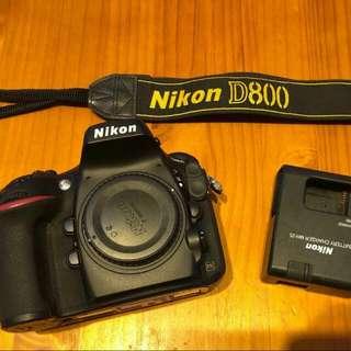 Nikon D800 全片幅 95新
