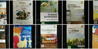 ABM Grade 11 books (bundle)