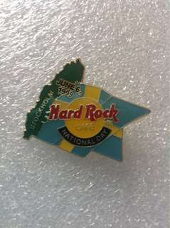 Hard Rock Cafe Pins - STOCKHOLM HOT & RARE 1999 NATIONAL DAY EVENT PIN!