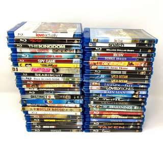 Blu Rays - Good Condition blu ray movies