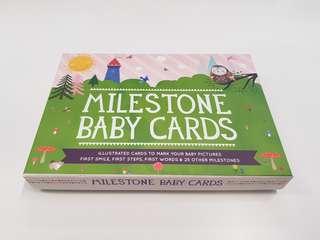 Baby Milestone Cards - Original