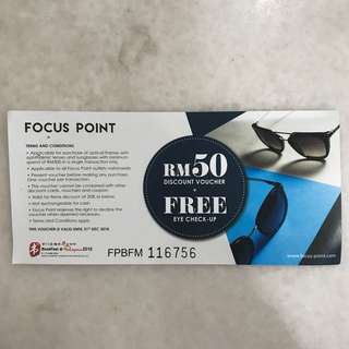 Focus point Voucher