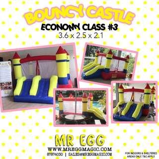 Promotion Economy Class Bouncy Castle EC#3