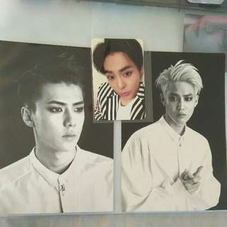 EXO Photocard And Postcards